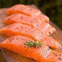 فروش ماهی سالمون پرورشی